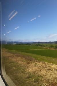 陸羽西線の車窓